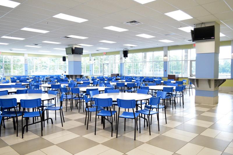Cafétériat du Collège Saint-Bernard à Drummmondville