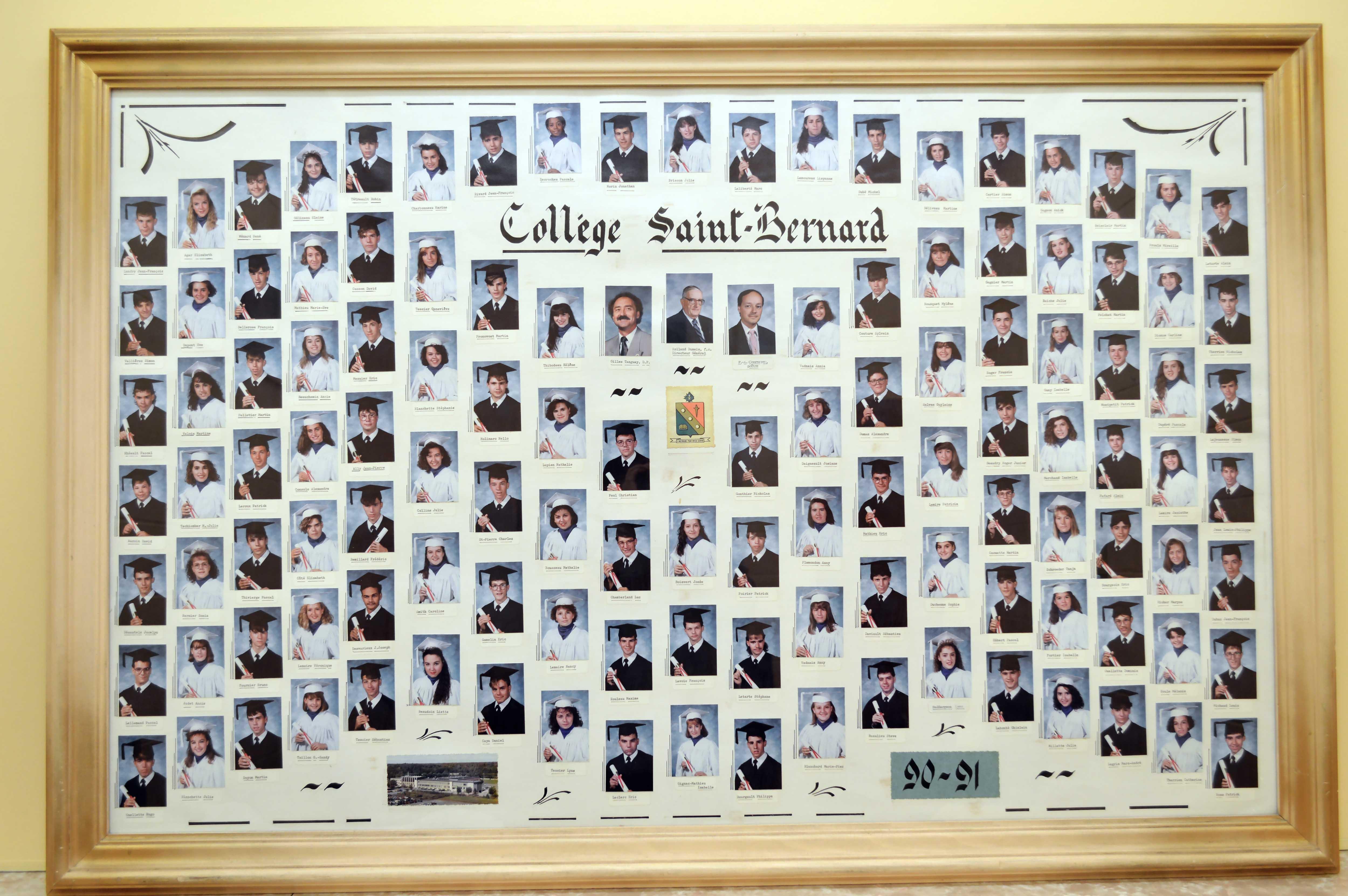 College-Saint-Bernard_Graduations-1990-91