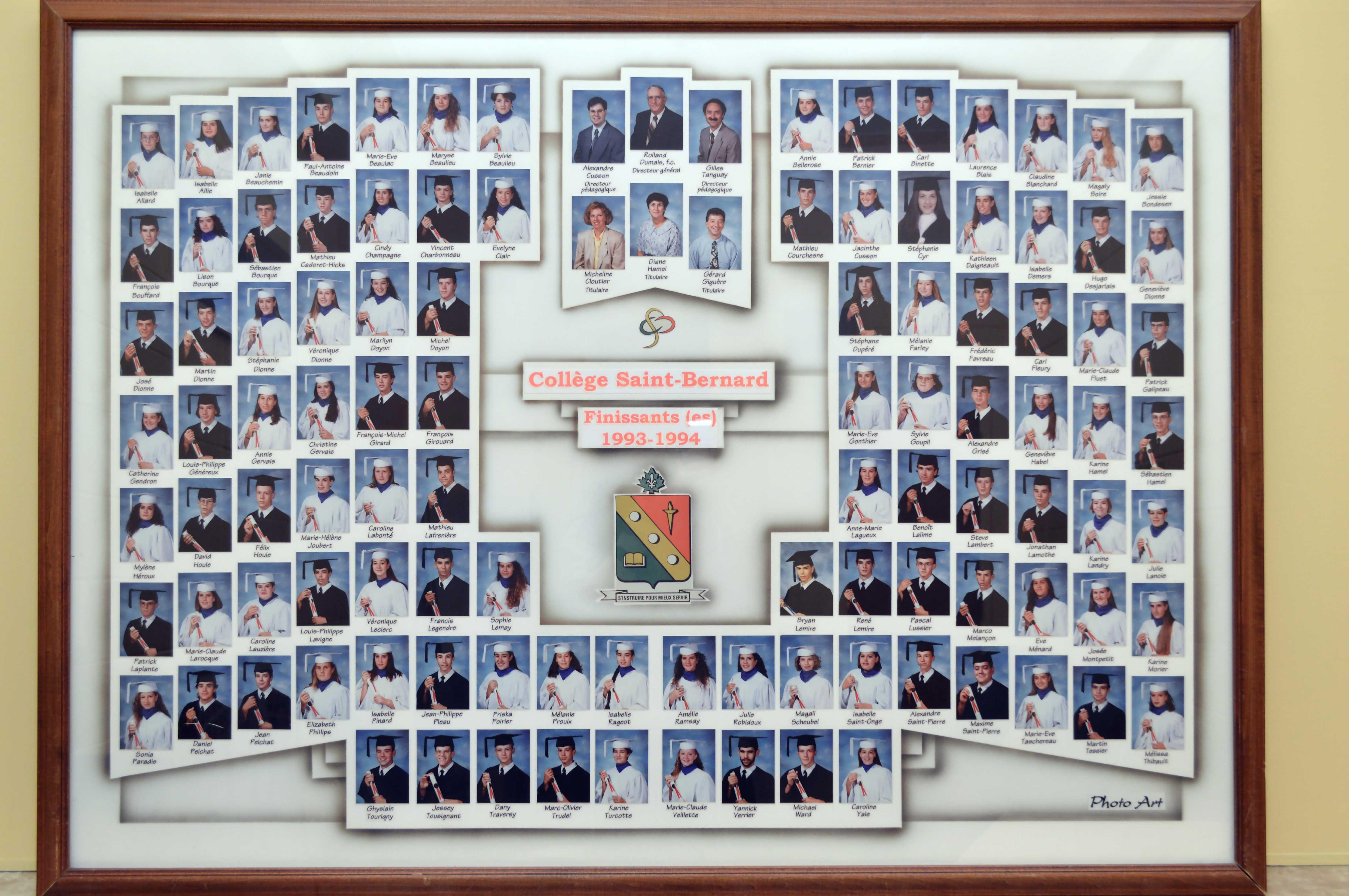 College-Saint-Bernard_Graduations-1993-94