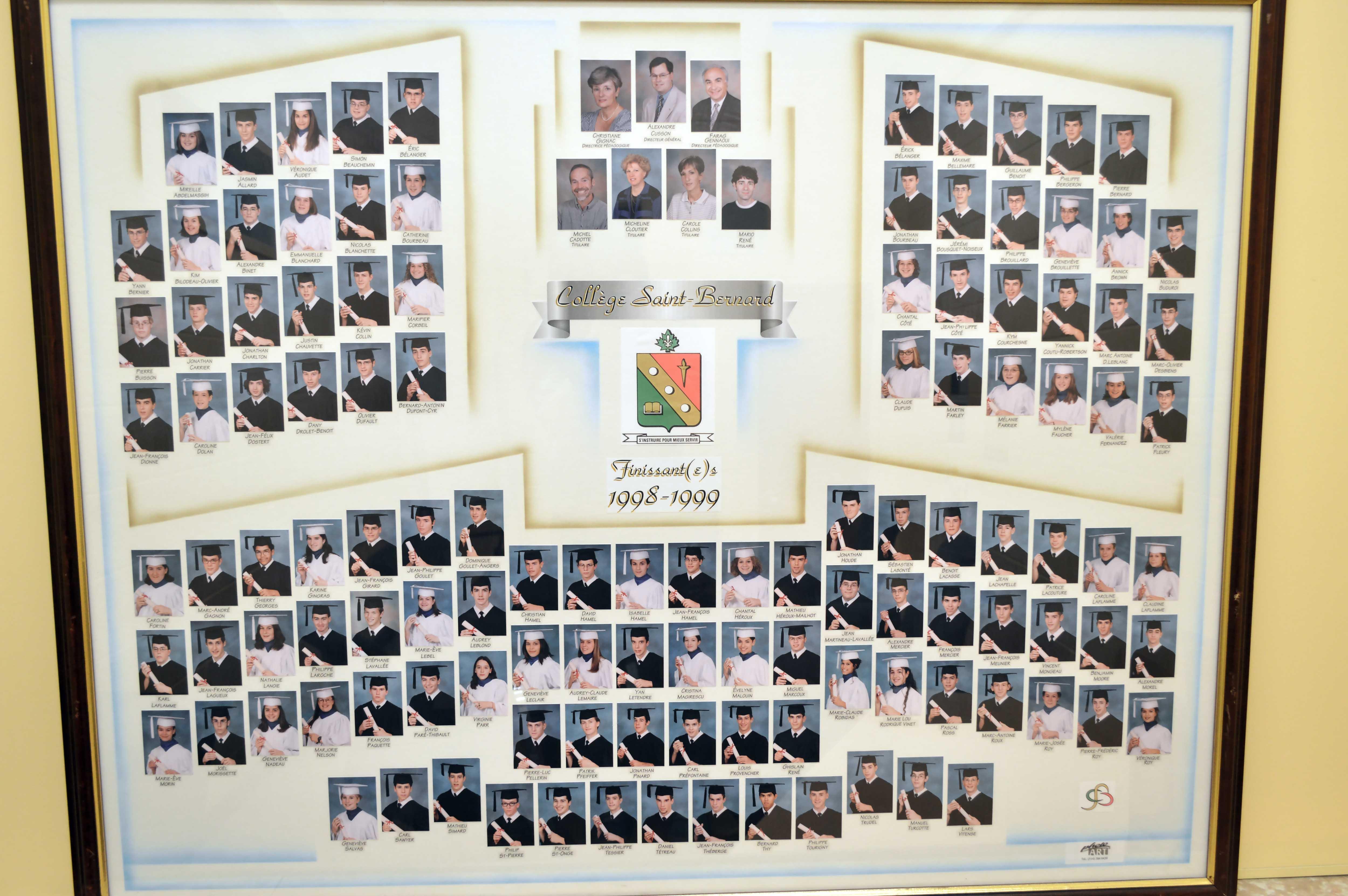 College-Saint-Bernard_Graduations-1998-99