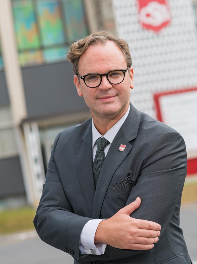 Dominic Guévin directeur du Collège Saint-Bernard